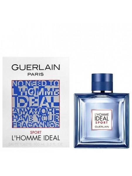 Guerlain L'Homme Ideal Sport туалетная вода 100 мл
