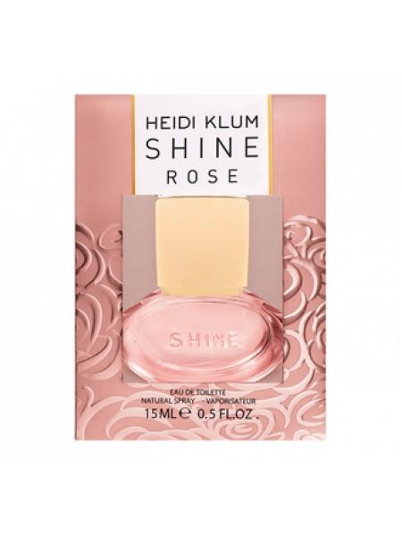 Heidi Klum Shine My Rose туалетная вода 15 мл