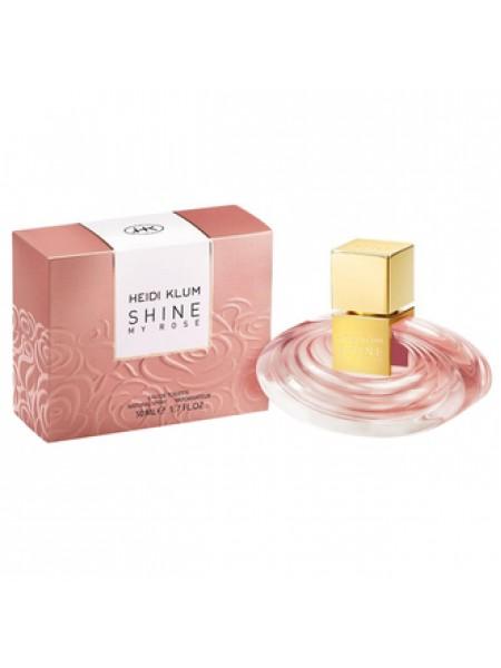 Heidi Klum Shine My Rose туалетная вода 50 мл