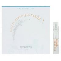 Hermes Eau des Merveilles Bleue пробник 2 мл