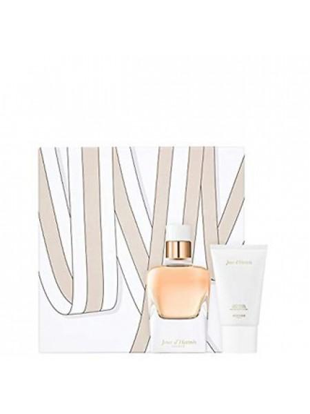 Hermes Jour d'Hermes Absolu Подарочный набор (парфюмированная вода 50 мл + лосьон для тела 30 мл)