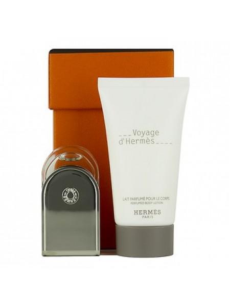 Hermes Voyage d'Hermes Подарочный набор (туалетная вода 5 мл + лосьон для тела 30 мл)