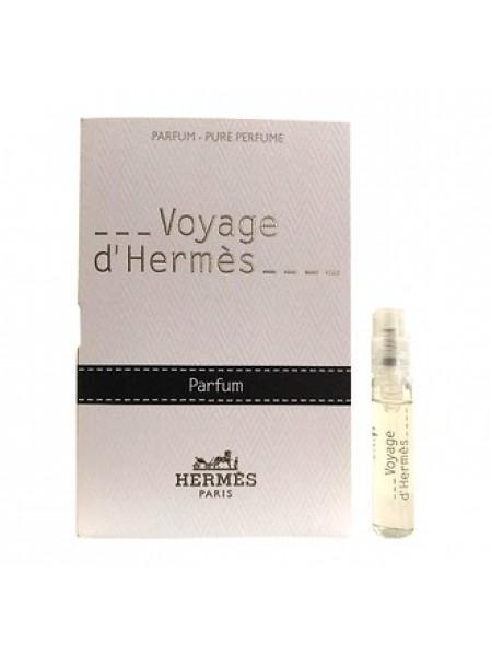 Hermes Voyage d'Hermes пробник (парфюмированная вода) 2 мл