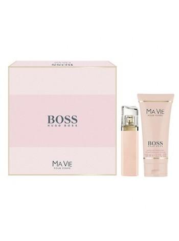 Hugo Boss Ma Vie Pour Femme Подарочный набор (парфюмированная вода 50 мл + лосьон для тела 100 мл)