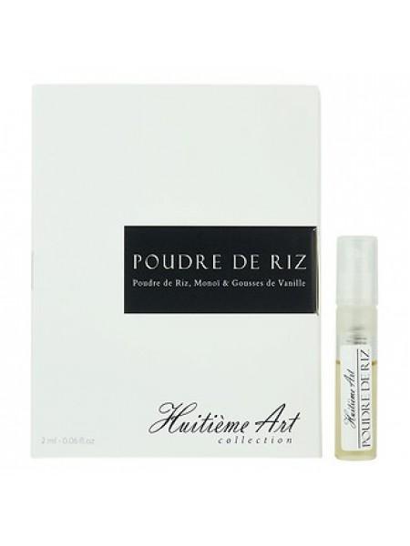 Huitieme Art Parfums Poudre de Riz пробник 2 мл