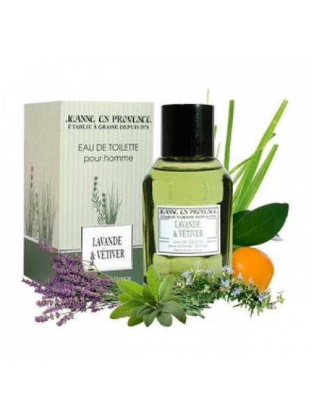 Jeanne en Provence Lavende & vetiver  парфюмированная вода 100 мл