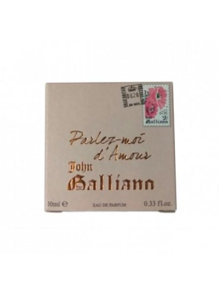 John Galliano Parlez-Moi d'Amour Eau de Parfum миниатюра 10 мл
