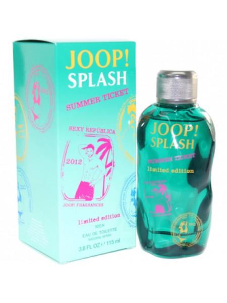 Joop! Splash Summer Ticket туалетная вода 115 мл