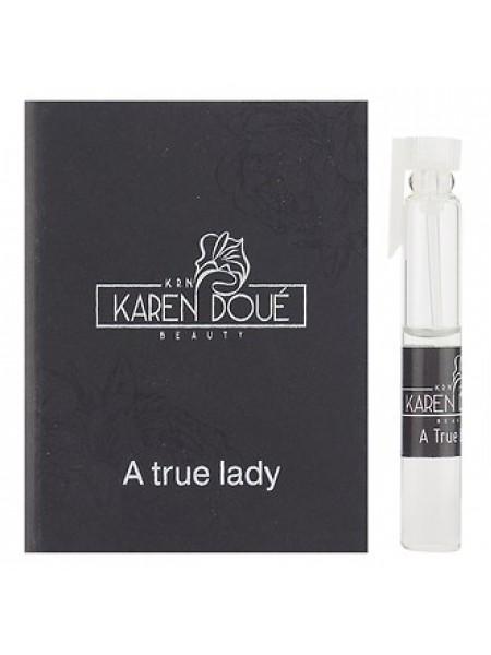 Karen Doue A True Lady пробник 2 мл