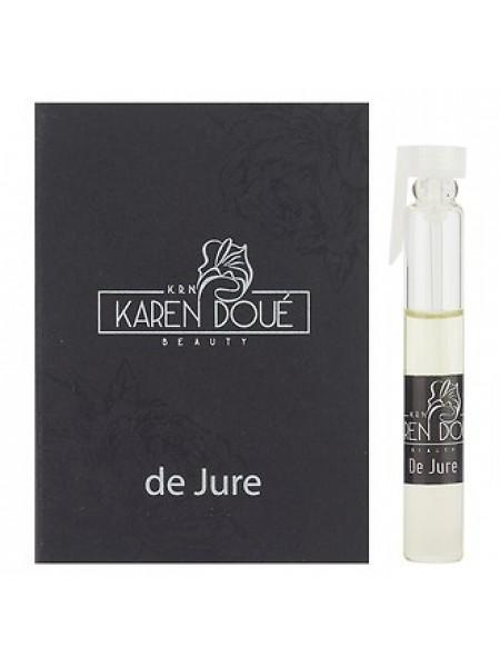 Karen Doue De Jure пробник 2 мл