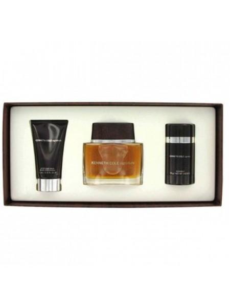 Kenneth Cole Signature Подарочный набор (туалетная вода 100 мл + лосьон после бритья 100 мл + стиковый дезодорант 75 мл)