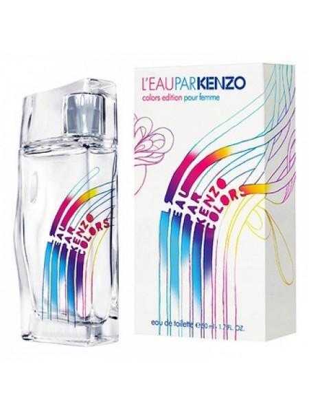 Kenzo L`Eau Par Kenzo Colors Pour Femme туалетная вода 50 мл
