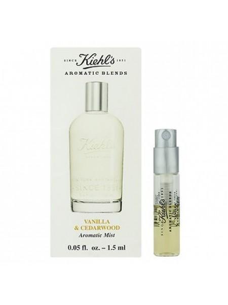 Kiehl's Aromatic Blends: Vanilla & Cedarwood пробник 1.5 мл