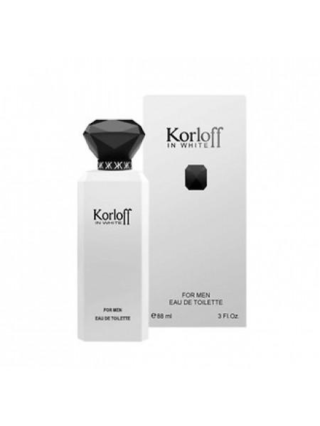 Korloff Paris In White туалетная вода 88 мл
