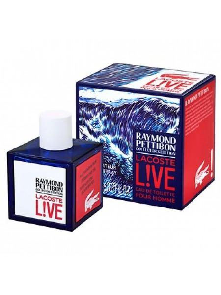 Lacoste Live Raymond Pettibon Collector's Edition туалетная вода 100 мл