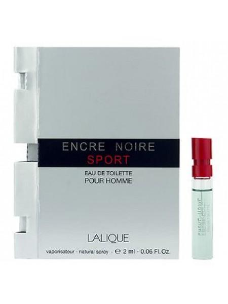 Lalique Encre Noire Sport пробник 2 мл