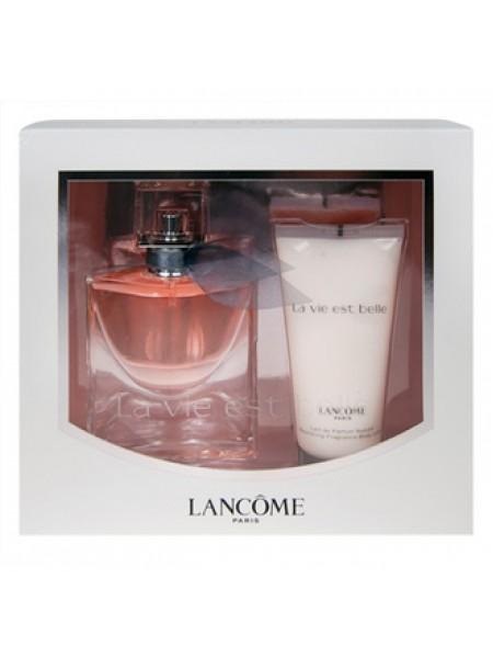 Lancome La Vie Est Belle Подарочный набор (парфюмированная вода 50 мл + лосьон для тела 50 мл)