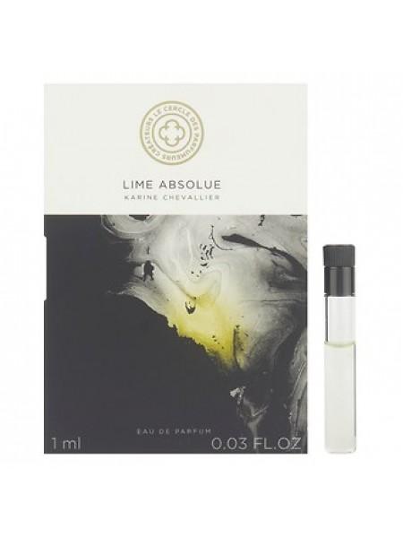 Le Cercle des Parfumeurs Createurs Lime Absolue пробник 1 мл