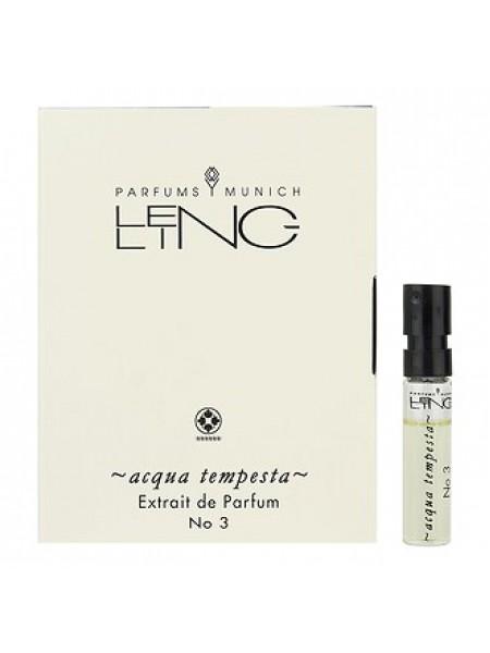 Lengling No 3 Acqua Tempesta пробник 1.5 мл