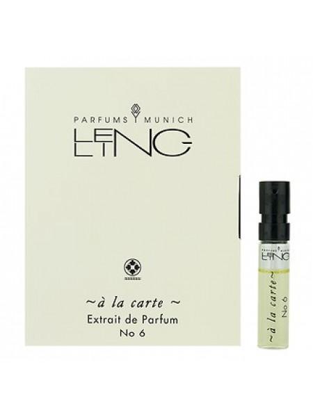 Lengling No 6 A La Carte пробник 1.5 мл