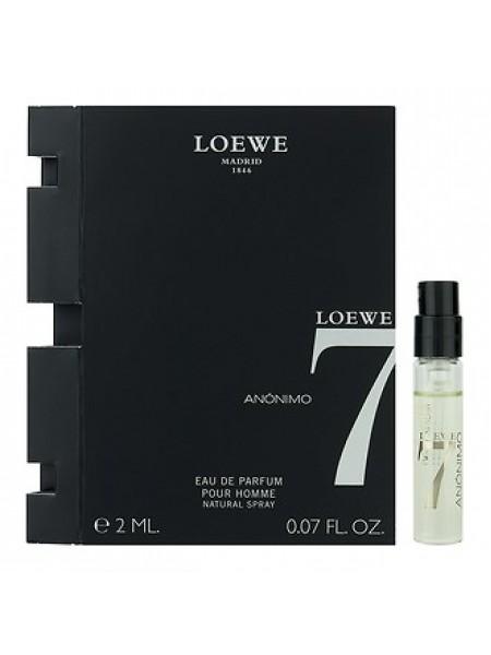 Loewe 7 Anonimo пробник 2 мл