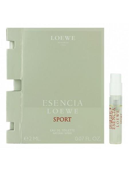 Loewe Esencia Sport пробник 2 мл