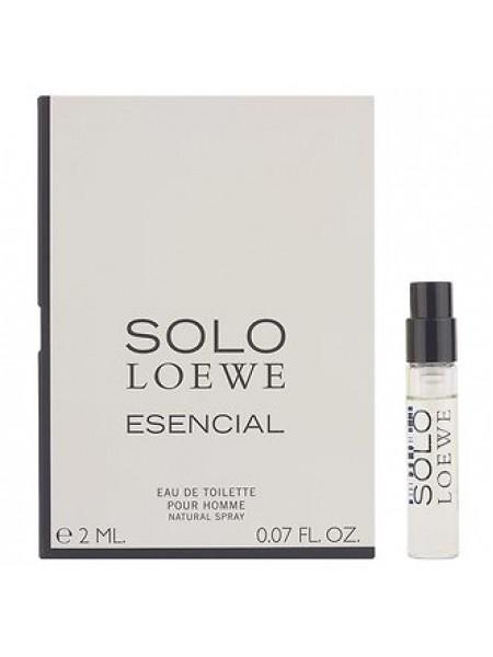 Loewe Solo Loewe Esencial пробник 2 мл