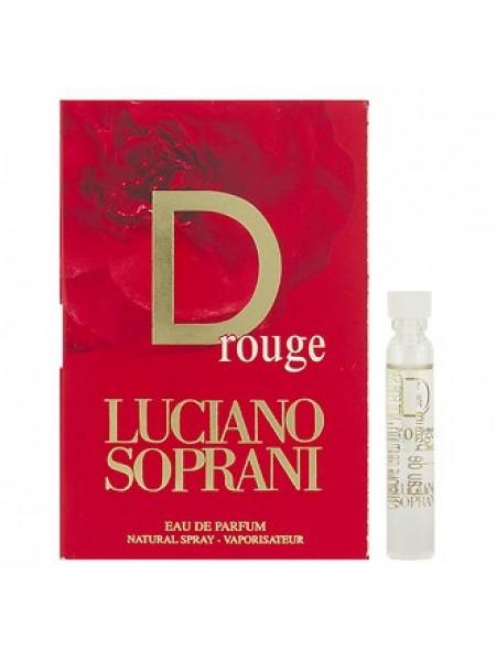 Luciano Soprani D Rouge пробник 1.9 мл