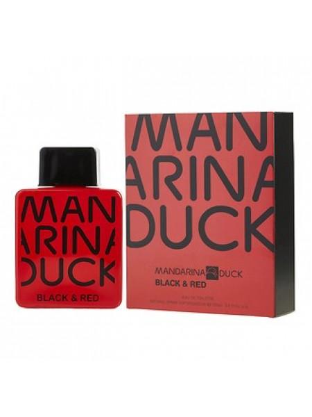 Mandarina Duck Black & Red For Man туалетная вода 100 мл