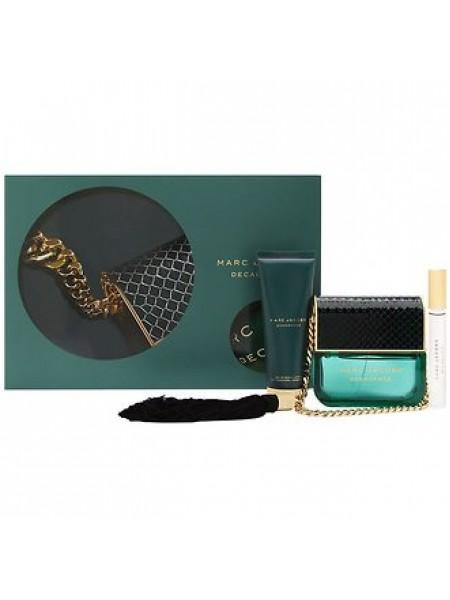 Marc Jacobs Decadence Подарочный набор (парфюмированная вода 100 мл +  лосьон для тела 75 мл + ручка-роллер 10 мл)