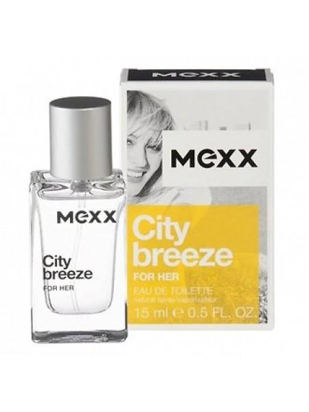 Mexx City Breeze For Her туалетная вода 15 мл