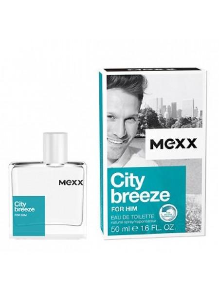 Mexx City Breeze for Him туалетная вода 50 мл