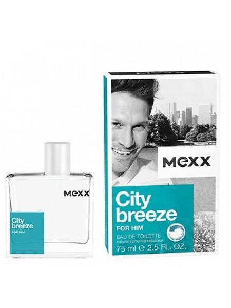 Mexx City Breeze for Him туалетная вода 75 мл