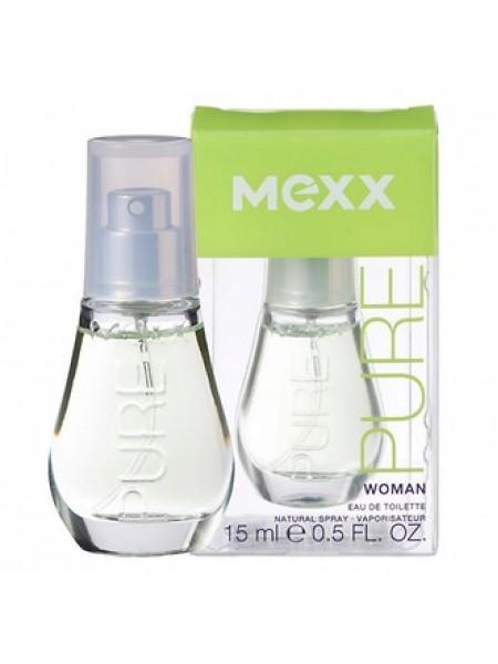Mexx Pure Woman туалетная вода 15 мл