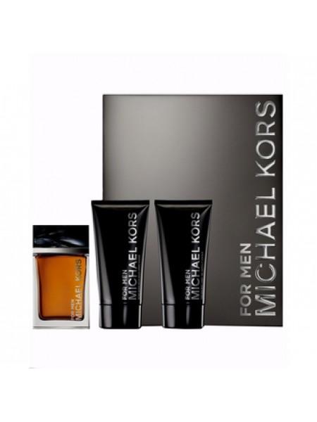 Michael Kors for Men Подарочный набор (туалетная вода 120 мл + гель для душа 75 мл + бальзам после бритья 75 мл)