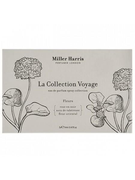 Miller Harris Le Collection Voyage Fleurs Gift Set (тестер) 3х14 мл