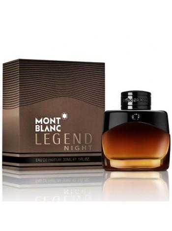 Montblanc Legend Night парфюмированная вода 30 мл