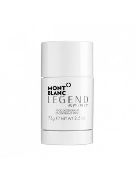 Montblanc Legend Spirit стиковый дезодорант 75 мл