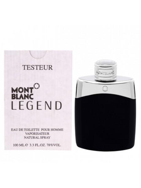 Montblanc Legend тестер с крышечкой (туалетная вода) 100 мл