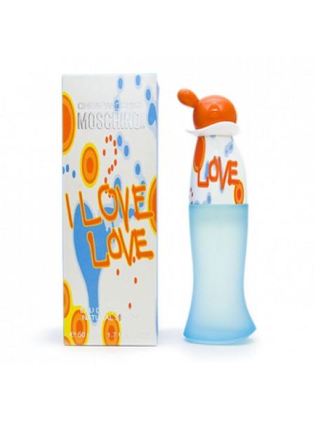 Moschino Cheap & Chic I Love Love туалетная вода 50 мл