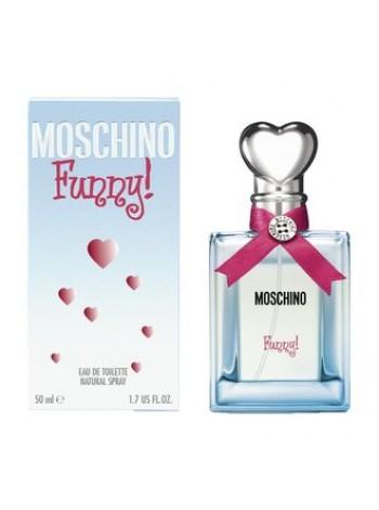 Moschino Funny Подарочный набор (туалетная вода 50 мл + лосьон для тела 50 мл + гель для душа 50 мл)