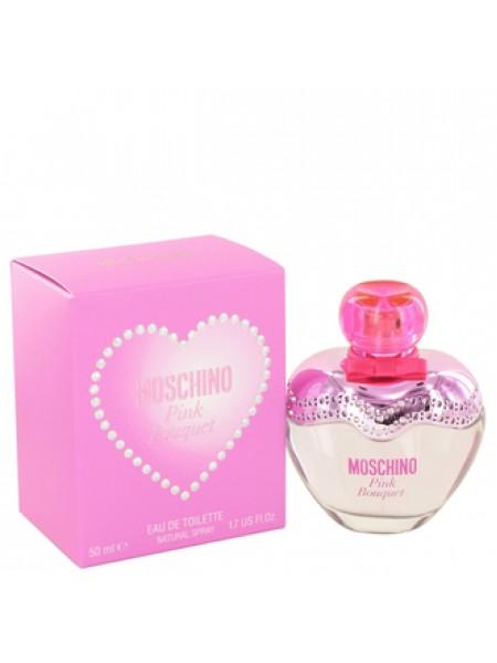 Moschino Pink Bouquet туалетная вода 50 мл