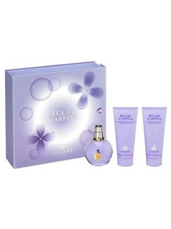 Lanvin Eclat D'Arpege подарочный набор (парфюмированная вода 100 мл + лосьон для тела 100 мл + гель для душа 100 мл)