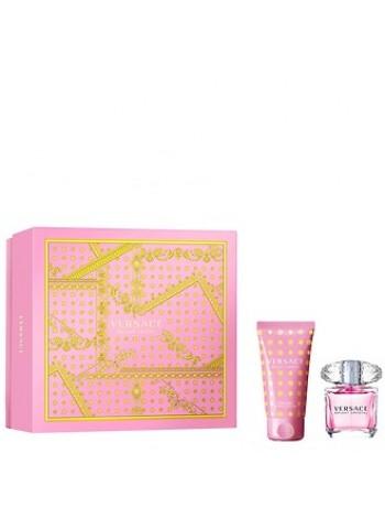Versace Bright Crystal Подарочный набор (туалетная вода 30 мл + лосьон для тела 50 мл)