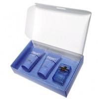 Versace Man Eau Fraiche Подарочный набор (миниатюра 5 мл + гель для душа 25 мл + лосьон после бритья 25 мл)