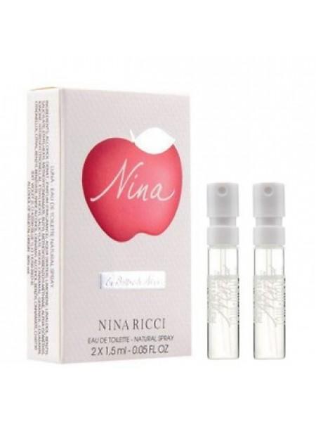 Nina Ricci Nina & Luna Blossom Vials Set 2x1.5 мл