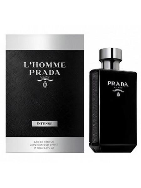Prada L'Homme Intense парфюмированная вода 100 мл