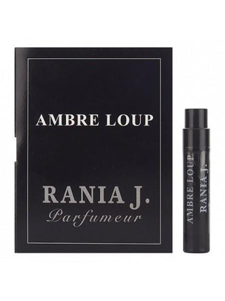 Rania J Ambre Loup пробник 1 мл