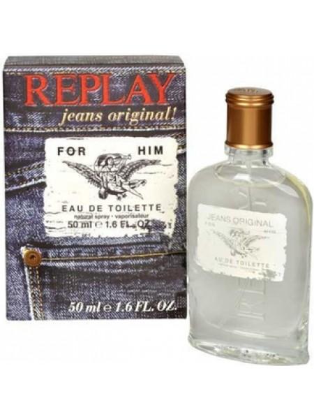 Replay Jeans Original for Him туалетная вода 50 мл