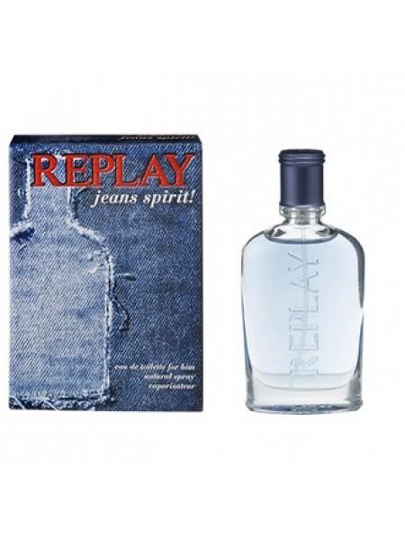 Replay Jeans Spirit for Him туалетная вода 30 мл